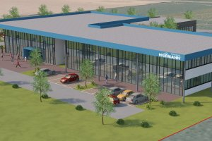 Hofmann Строительство нового сервисного центра — St. Florian