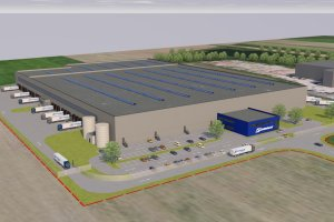 Schrack Neubau Logistikcenter – Achau